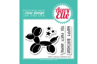 Avery Elle Clear Stamp Set 5.1cm x 7.6cm