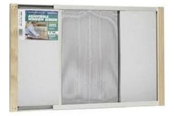 (15in High x Fits 19-33in Wide) - THERMWELL PRODUCTS AWS1533 ADJUSTABLE METAL RAIL SCREEN