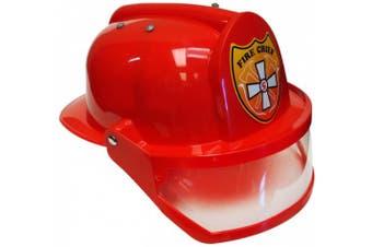 (onesize) - Aeromax Firefighter Helmet with Visor