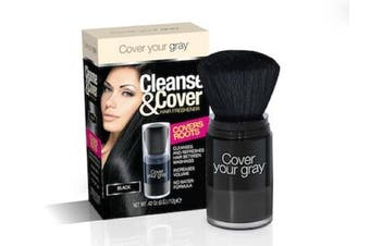 (Black) - Cover Your Grey Cleanse & Cover Hair Freshener