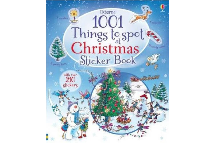 1001 Things to Spot at Christmas Sticker Book (1001 Things)