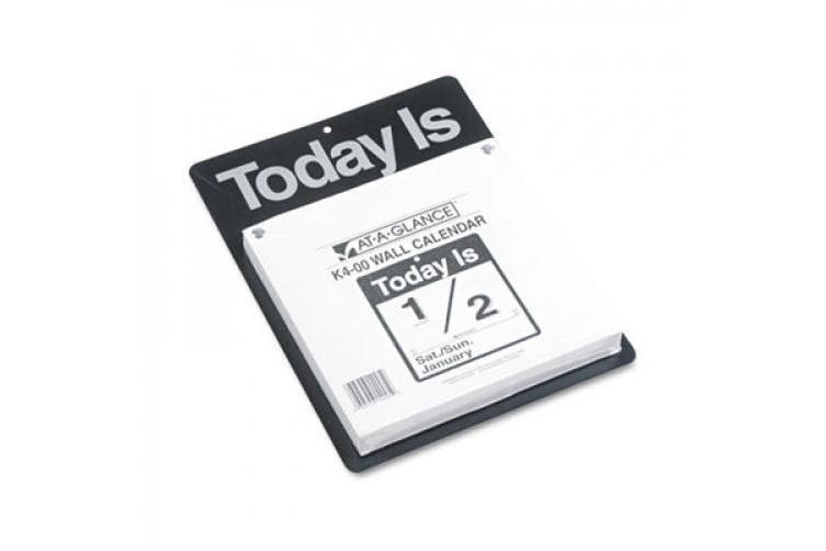 """Recycled """"Today Is"""" Wall Calendar, 9 3/8"""" x 12"""", 2015"""