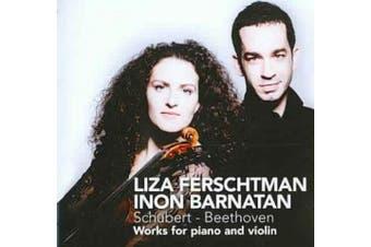 Schubert, Beethoven: Works for Piano & Violin / Ferschtman