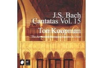 J.S. Bach: Cantatas, Vol. 15