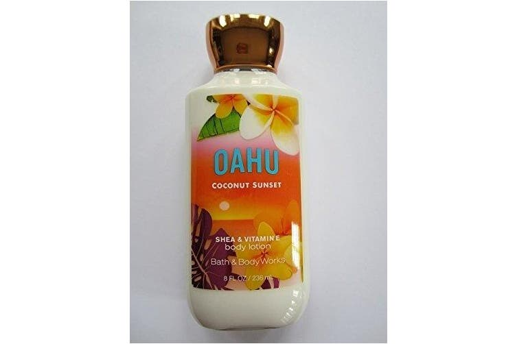 Bath & Body Works Oahu Coconut Sunset 240ml Body Lotion