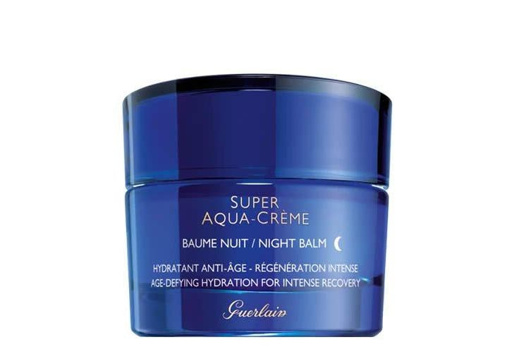 Guerlain Super Aqua Creme Age-Defying Hydration Night Cream for Intense Recovery, 45ml