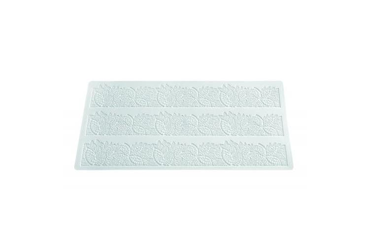 (Leaves) - Silikomart Silicone Wonder Cakes Collection Sugar Lace Mats for Cake Decoration, Leaves