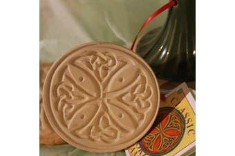 Brown Bag Celtic Cross Cookie Stamp - British Isle Series