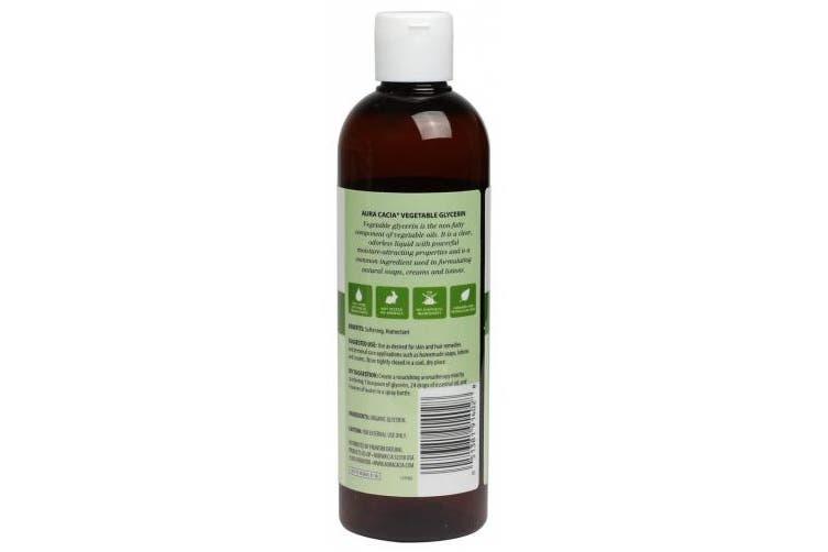 (Vegetable Glycerin) - Aura Cacia Skin Care Oil - Organic Vegetable Glycerin Oil - 470ml, 16 Fluid Ounce