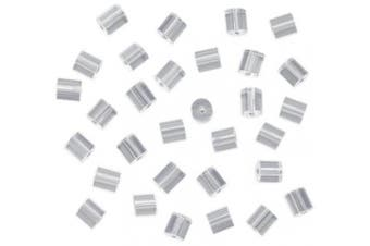 (size-0) - 144-Piece Earring Safety Backs for Fish Hook Earrings, Small, Clear