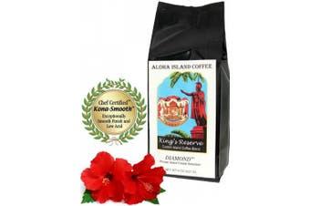 (Diamond Whole Bean, 240ml) - Gourmet Coffee Gifts of Pure Kona Coffee from The Big Island of Hawaii, The Ultimate Coffee Gift