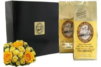 (100% Pure Kona Coffee of the Month Club) - Gourmet Coffee Gifts of Pure Kona Coffee from The Big Island of Hawaii, The Ultimate Coffee Gift