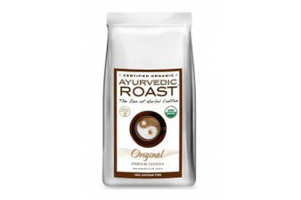 (french vanilla, 330ml) - Organic Caffeine-free Coffee Substitute By Ayurvedic Roast - GMO-free, Certified Organic, Vegan