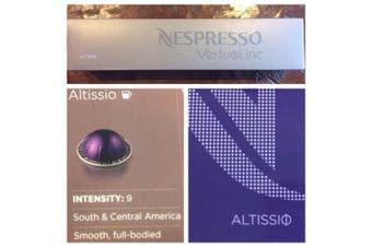 10 Capsules Nespresso VertuoLine Altissio Coffee