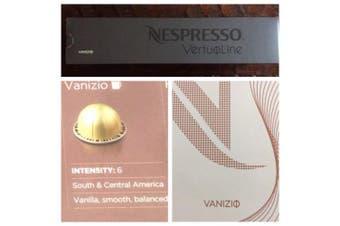 10 Capsules Nespresso VertuoLine Vanizio Coffee