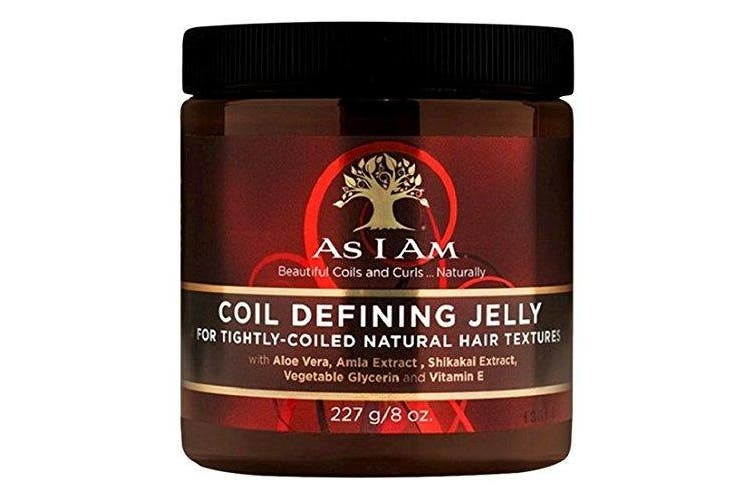 As I Am Coil Defining Jelly for Defining Tightly-coiled Natural Hair Textures 240ml