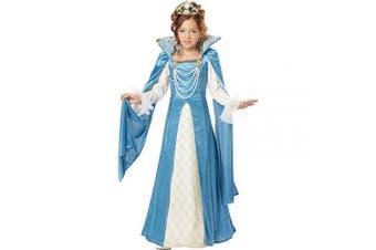 (M, One Color) - California Costumes Renaissance Queen Child Costume, Medium