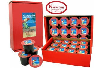 (24 K-cups of Organic Breakfast Blend) - K-cups of Breakfast Blend Certified Organic Arabica Tropical Coffee, Choose: 12 or 24 K-cups, or Free Pod Adapter for the Most Eco-Friendly K-cup Brewing, or K-cup and Tea Gift for All Occasions
