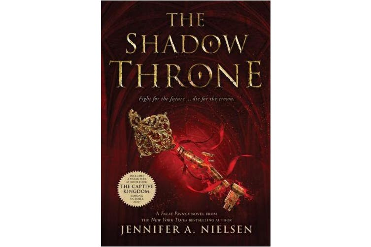 The Shadow Throne: Book 3 of the Ascendance Trilogy (Ascendance Trilogy)