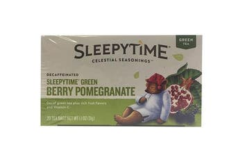 (Decaf Blackberry Pomegranate Green) - Celestial Seasonings Green Tea, Sleepytime Decaf Blackberry Pomegranate, 20 Count