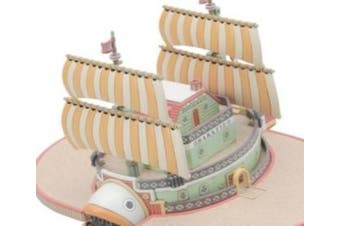 """Bandai Hobby #10 Grand Ship Collection Baratie """"One Piece"""" Model Kit"""