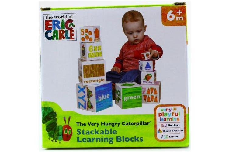 Building Blocks Very Hungry Caterpillar
