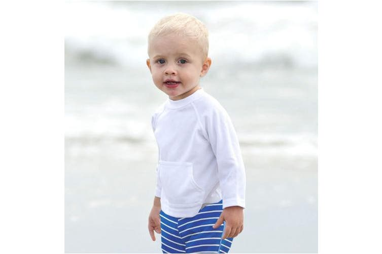 (White, 18-24 Months) - i play. Baby & Toddler Breatheasy Sun Protection Shirt