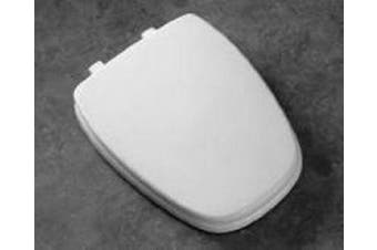 (Round, Natural) - BEMIS 1240200 036 Eljer Emblem Plastic Toilet Seat, ROUND, Natural