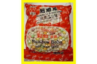 Rainbow Tapioca Pearls Boba Bubble Tea 1kg