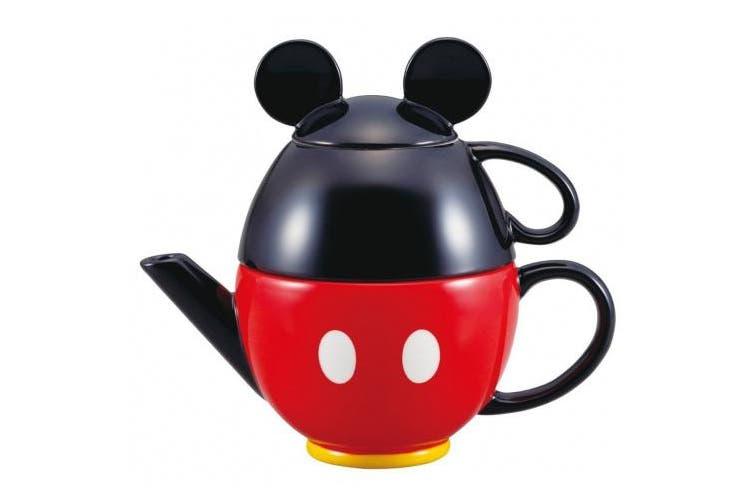 Disney Mickey Mouse tea set (pot and mug) SAN2171 (japan import)