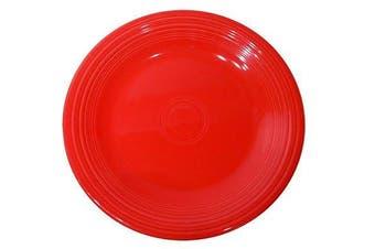 (Scarlet) - Fiesta 27cm Dinner Plate, Scarlet