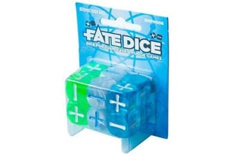 Evil Hat Productions Fate Dice: Atomic Robo Dice