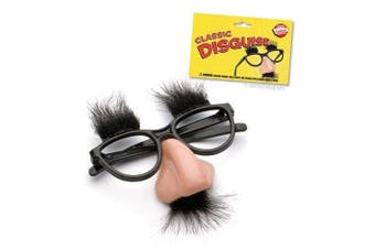 Fuzzy Nose and Glasses Disguise by Accoutrements - 9510