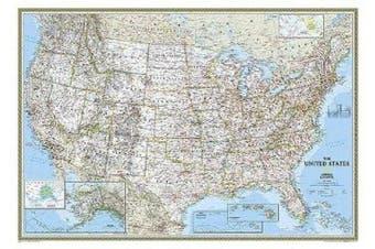 United States Decorator, Enlarged &, Laminated: Wall Maps U.S.