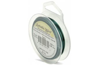 Artistic Wire 20-Gauge Kelly Green Wire, 15-Yards