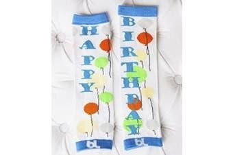 (Birthday Boy) - Baby Leggings Leg Warmers (Birthday Boy)