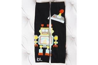 (Robot) - Baby Leggings Leg Warmers (Robot)