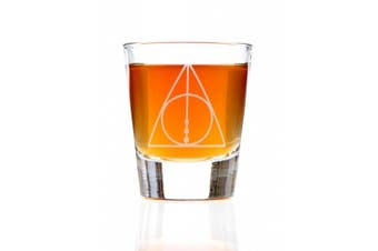 The Deathly Hallows: Harry Potter Inspired Shot Glass