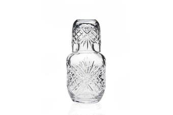 Dublin Crystal Bedside Night Carafe With Tumbler Glass