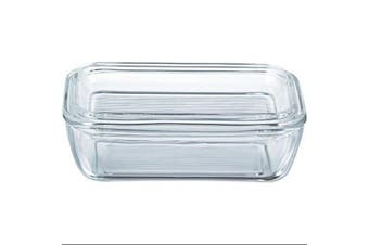 (Clear) - Luminarc Arcoroc Butter Dish with lid 17x10,5cm, 1 Piece