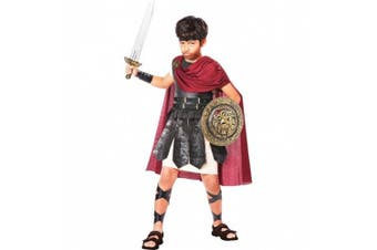 (10-12, One Color) - California Costumes Spartan Warrior Costume, One Colour, 10-12