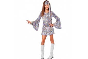 (8-10, One Color) - California Costumes Disco Darling Costume, One Colour, 8-10