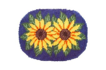 Wonderart Latch Hook Kit 50cm x 70cm Sunflowers