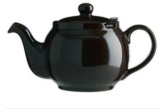 (4 cup, Brown) - London Teapot Company-Chatsford 4-Cup Teapot with One Red Filter, Brown