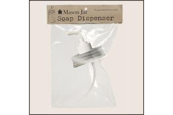 Mason Jar Soap/Lotion Dispenser Lid Barn Roof
