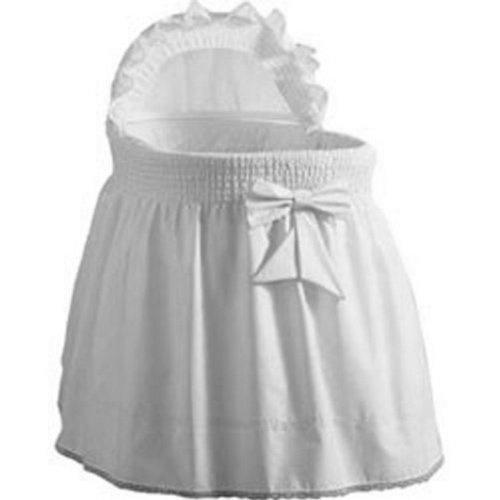 Baby Doll Sea Shell Bassinet Bedding White Matt Blatt