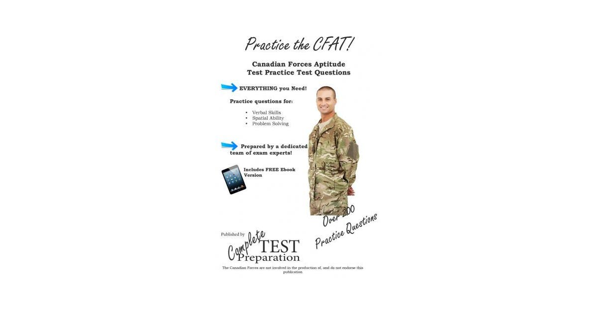 Practice the CFAT!: Canadian Forces Aptitude Test Practice