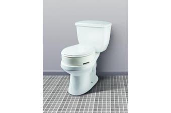 Carex Health Brands Hinged Toilet Seat Riser, Round