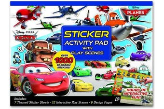 Artistic Studios Disney Pixar Cars/Planes Ultimate Sticker Activity Pad
