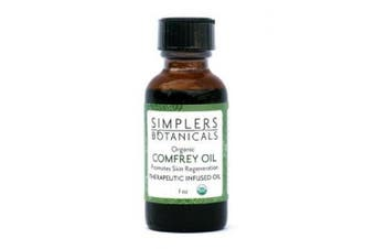 Comfrey Infused Oil Organic Simplers Botanicals 30ml Oil